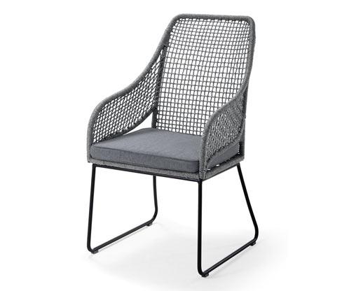 Siyah Yüksek Sırtlı Sandalye