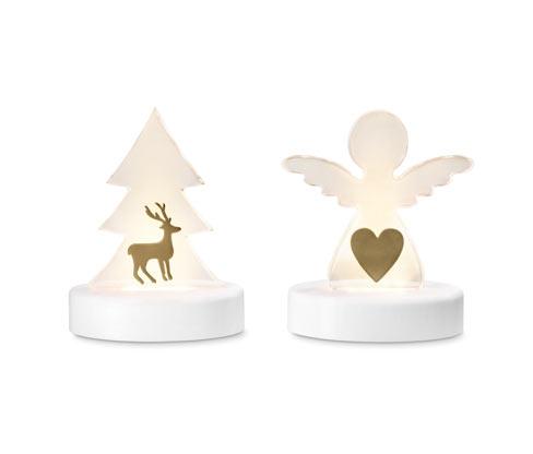 Dekoracyjne figurki LED, 2 sztuki