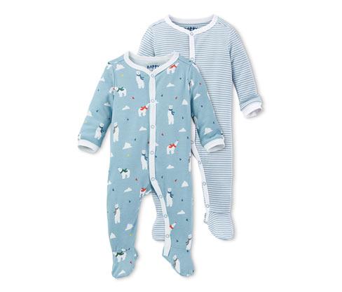 Piżamy niemowlęce, 2 sztuki