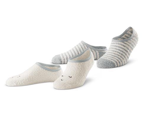 2 házicipő zokni szettben