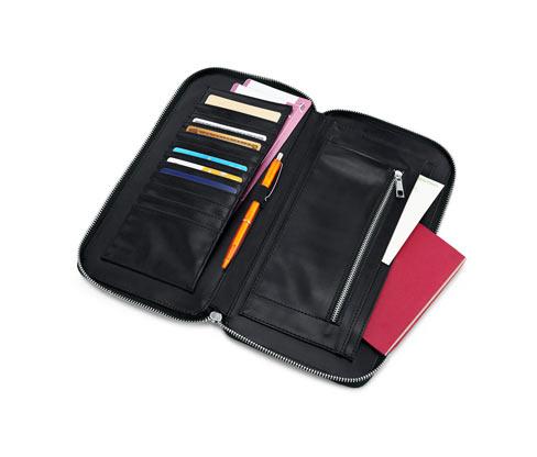 Irattartó táska, fekete