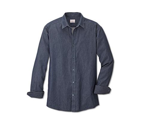 Férfi ing, kék
