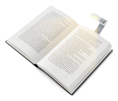 Lampka LED do czytania, z klipsem