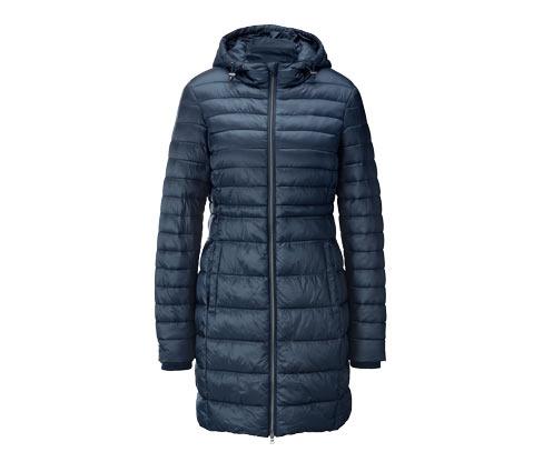Steppelt sötétkék kabát