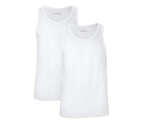 Džersejové spodné tričká, 2 ks