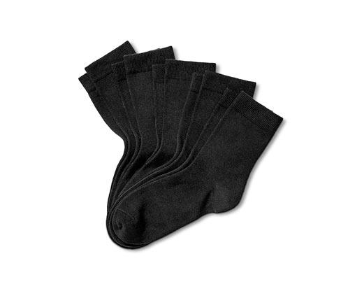 Siyah Organik Pamuklu Çorap