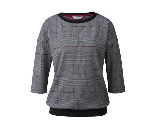 Sweatshirt mit 3/4-Ärmeln