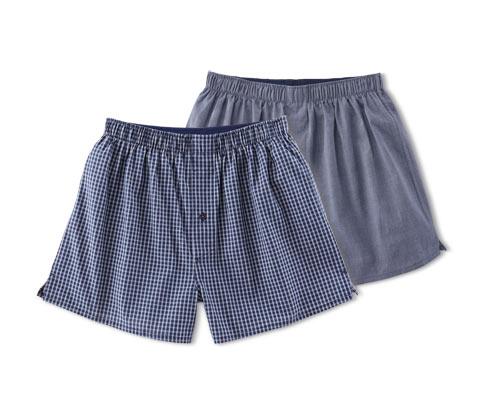 Tkané boxerky, 2 ks