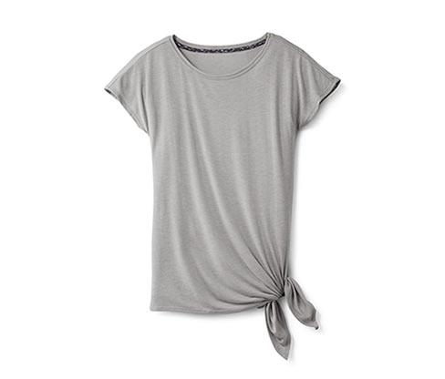 Koszulka sportowa, szara nakrapiana