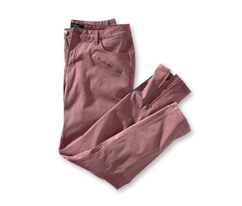 Kalhoty, červené