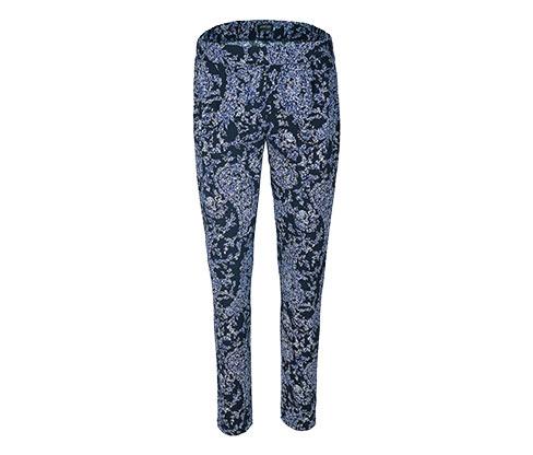 Vævede bukser med mønster