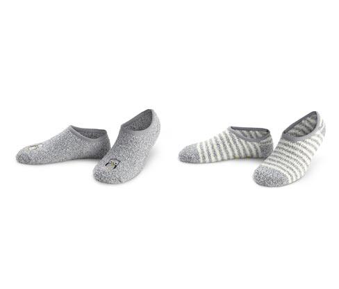 Ponožkové papuče, 2 páry