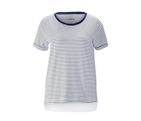 Tričko s tkaným dielom