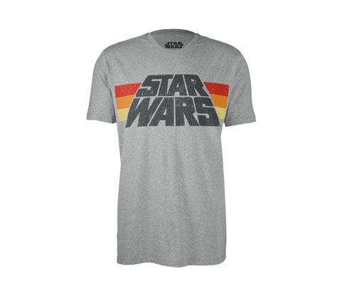 Férfi póló, Star Wars, szürke