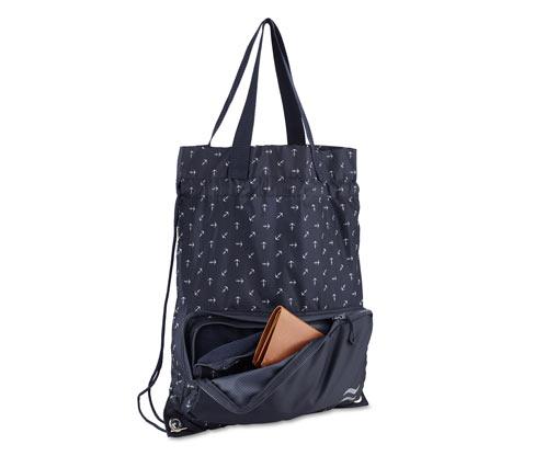 2 az 1-ben bevásárlótáska és hátizsák