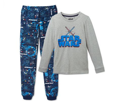 Fiú hosszú ujjú pizsama, Star Wars