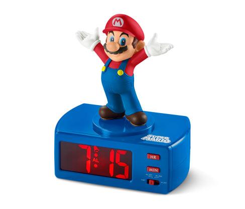 Budík Super Mario