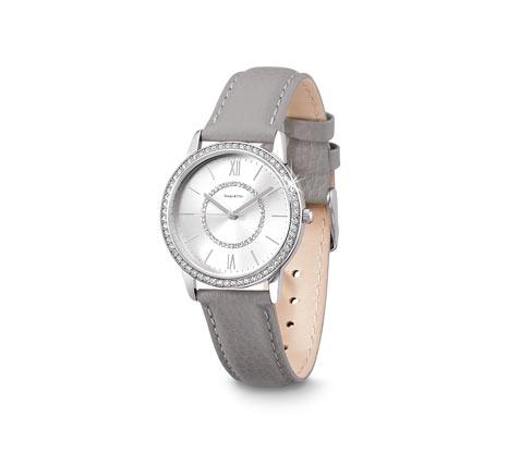 Dámské hodinky s koženým náramkem