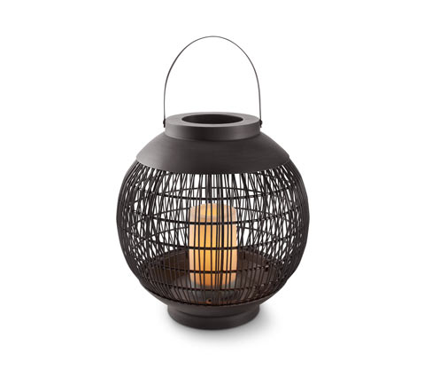 LED-Outdoor-Laterne, rund