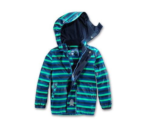 Dziecięca ciepłochronna kurtka przeciwdeszczowa