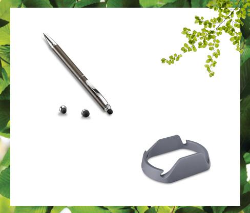 Tablet Standı - Tükenmez Kalemli Dokunmatik Kalem Hediye Seti
