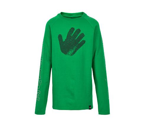 Chłopięca bluza z nadrukiem odciśniętej dłoni