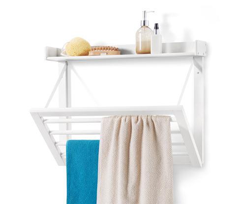 Vyklápěcí nástěnný držák na ručníky