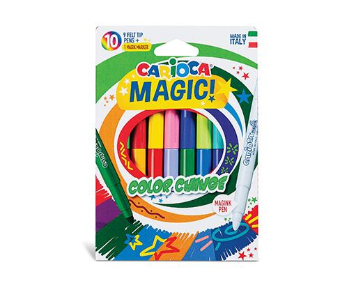 Carioca Renk Değiştiren Sihirli Keçeli Kalem 10'lu