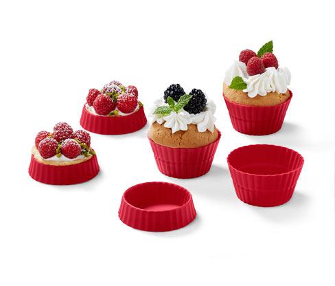 Formičky na muffiny, 12 ks