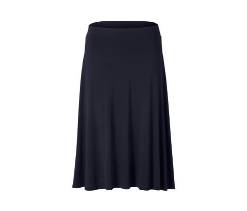 Žerzejová sukně po kolena