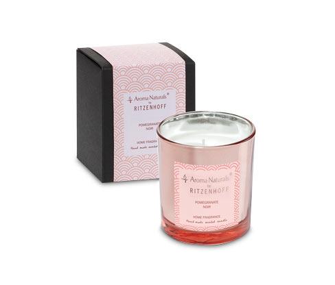 Ritzenhoff Aroma Naturals Duftkerze »Luxury« Pomegranate, klein