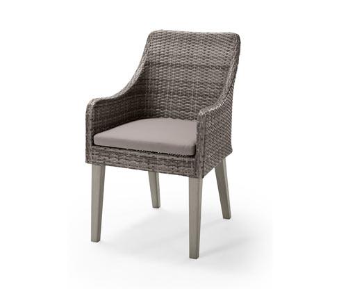 Kerti fotel, szürke