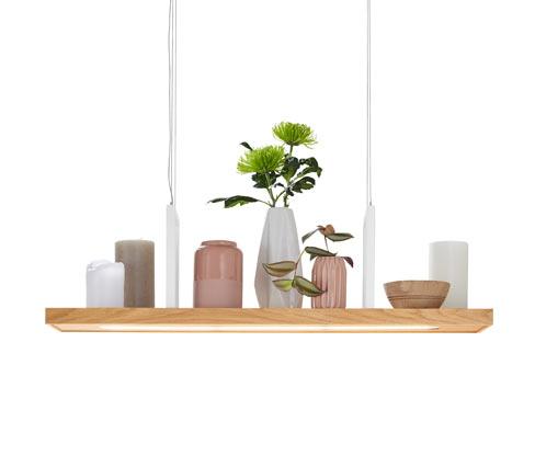 Závěsné svítidlo s dekorativní tabulkou