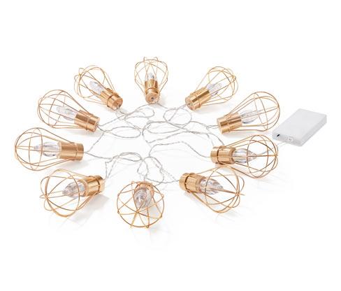 Světelný řetěz s LED Žárovky