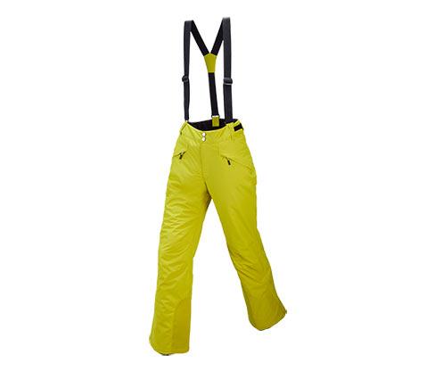 Skihose, gelb
