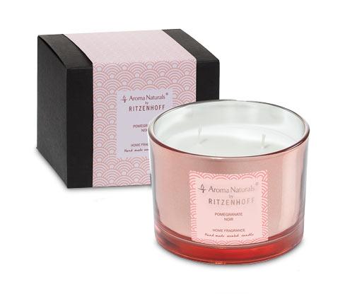 Ritzenhoff Aroma Naturals Duftkerze »Luxury« Pomegranate, groß