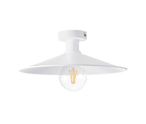 LED-es mennyezeti lámpa, fehér, fém
