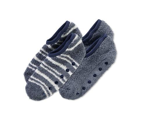 2 házicipő-zokni szettben