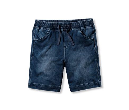 Krátke teplákové džínsy