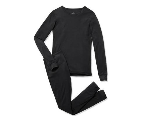 Férfi funkcionális aláöltözet, fekete