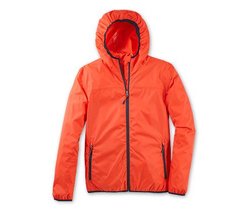 Pánská bunda do deště pack me, červená