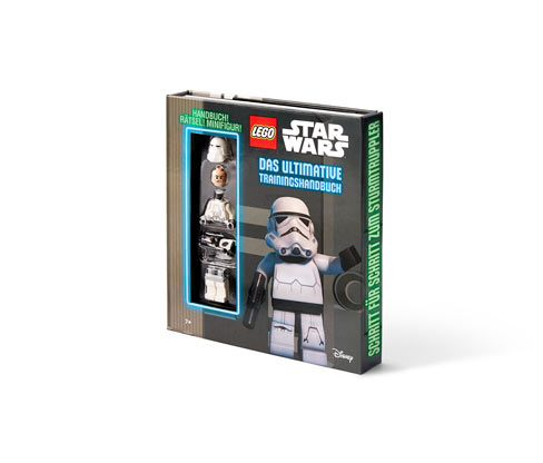 Box »LEGO® Star Wars™ – das ultimative Trainingshandbuch mit Minifigur«